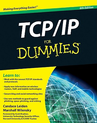 TCP/IP for Dummies By Leiden, Candace/ Wilensky, Marshall/ Bradner, Scott (FRW)