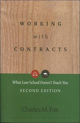 Working With Contracts By Fox, Charles M.